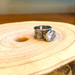 Silpada queen for a ring- sterling silver- size 7
